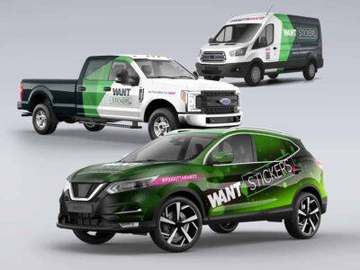Car Truck and Van Wraps