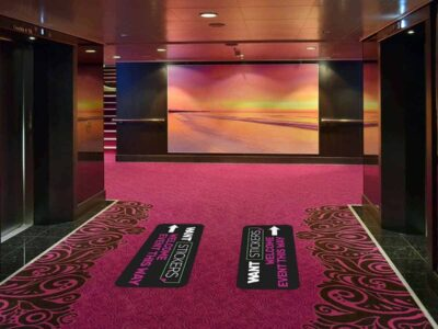 Carpet Floor Decal for Event