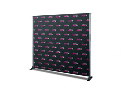 Custom Step and Repeat Banner Backdrop Display