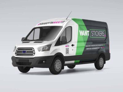 Work Van Vehicle Custom Wrap