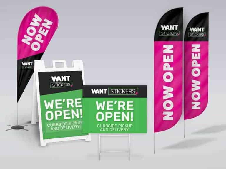 Outdoor Advertising Sign Prints
