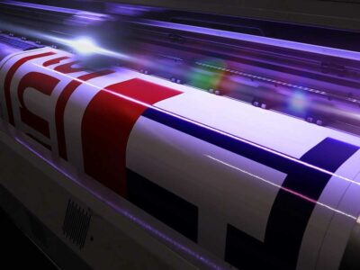 Printing Custom Signs on CMYK Digital Printer