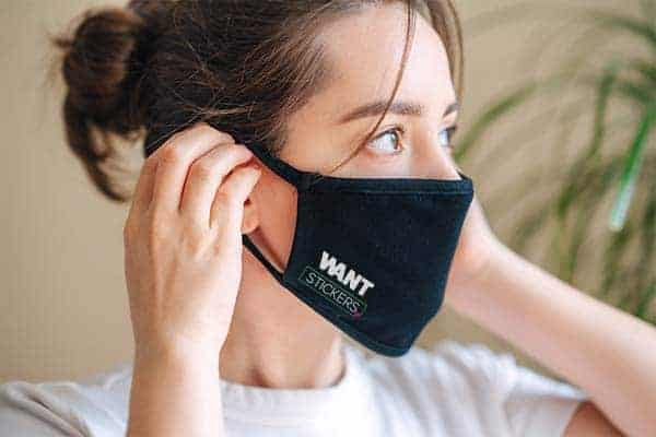 Want Custom Face Masks Mockup